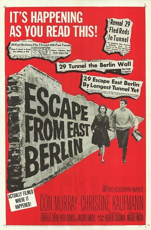 Escape from East Berlin Escape From East Berlin movie posters at movie poster warehouse