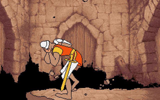 Escape from Singe's Castle Download Dragon39s Lair Escape from Singe39s Castle My Abandonware