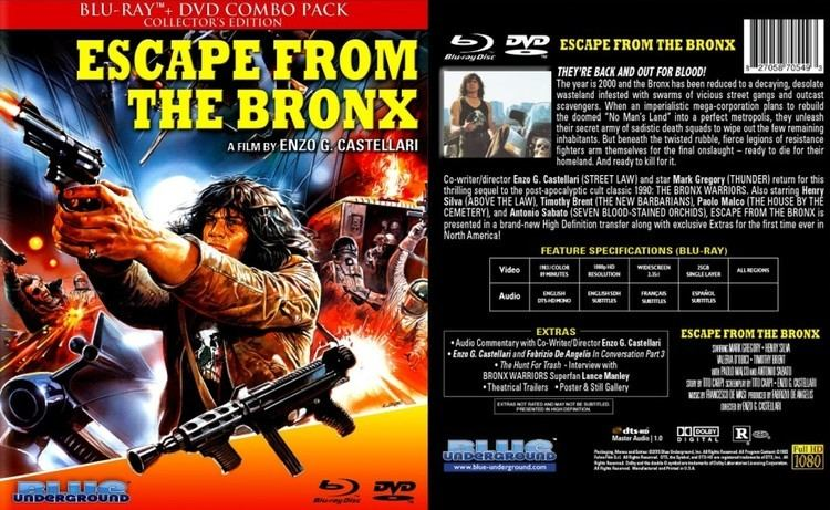 Escape from the Bronx Escape From The Bronx 1983 aka Bronx Warriors 2