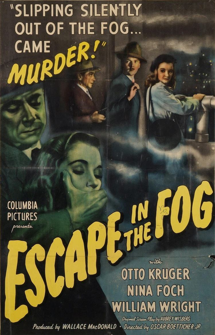 Escape in the Fog Lauras Miscellaneous Musings Tonights Movie Escape in the Fog
