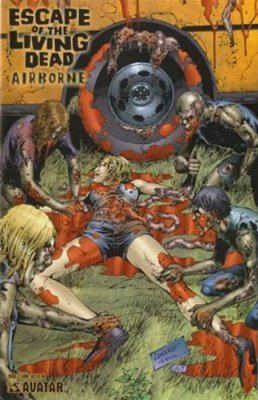 Escape of the Living Dead Escape of the Living Dead Airborne 1 Avatar Press