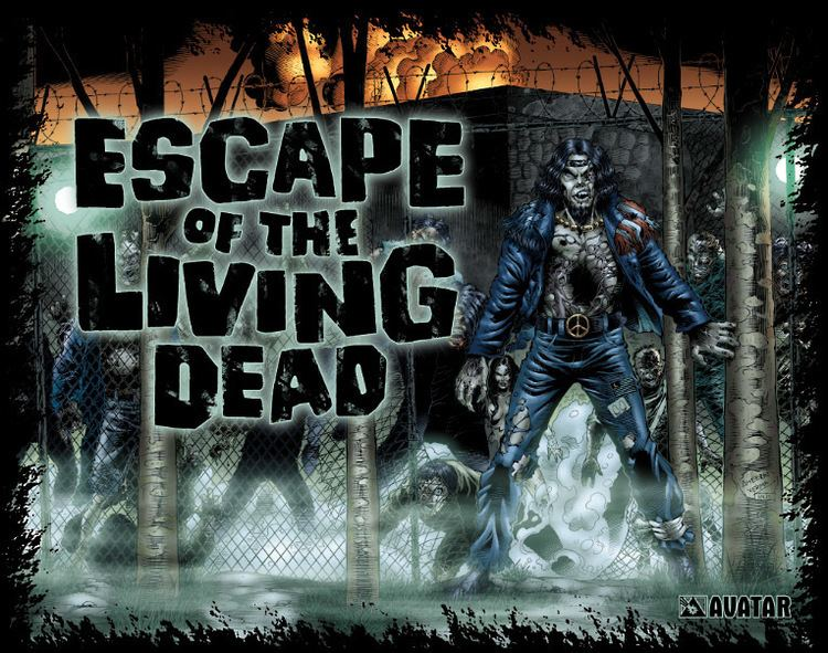 Escape of the Living Dead Escape of the Living Dead Avatar Press