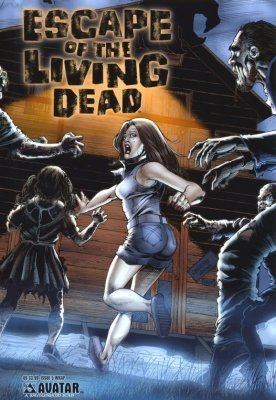 Escape of the Living Dead Escape of the Living Dead 1 Avatar Press ComicBookRealmcom