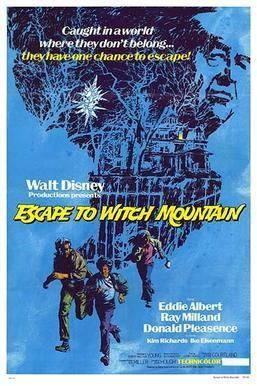 Escape to Witch Mountain (1975 film) Escape to Witch Mountain 1975 film Wikipedia