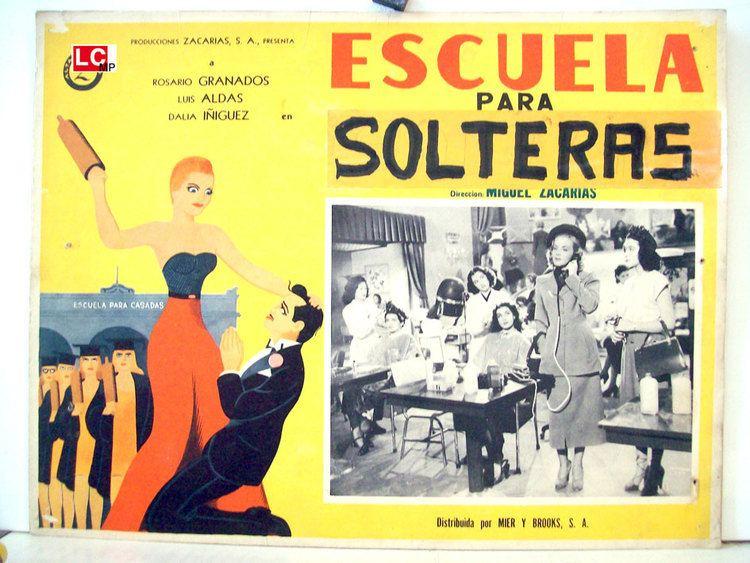 Escuela para solteras ESCUELA PARA SOLTERAS MOVIE POSTER ESCUELA PARA SOLTERAS MOVIE