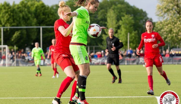 Eshly Bakker Eshly Bakker AFC Ajax vrouwen Ajax Heldinnen