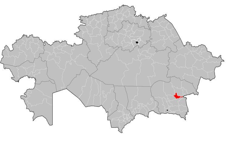 Eskeldi District