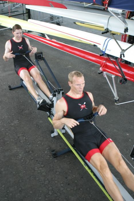 Eskild Ebbesen Eskild Ebbesen and Andy Finch Try out the Dynamic Concept2
