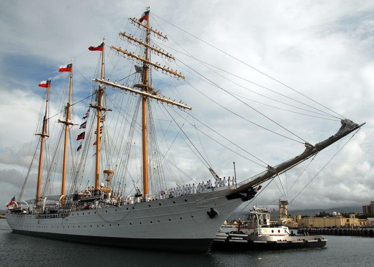 Esmeralda (BE-43) FileUS Navy 071004N0879R004 Chilean tall ship Esmeralda BE 43