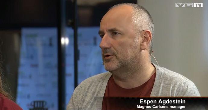 Espen Agdestein Espen Agdestein Russia is a little uncomfortable chess24com