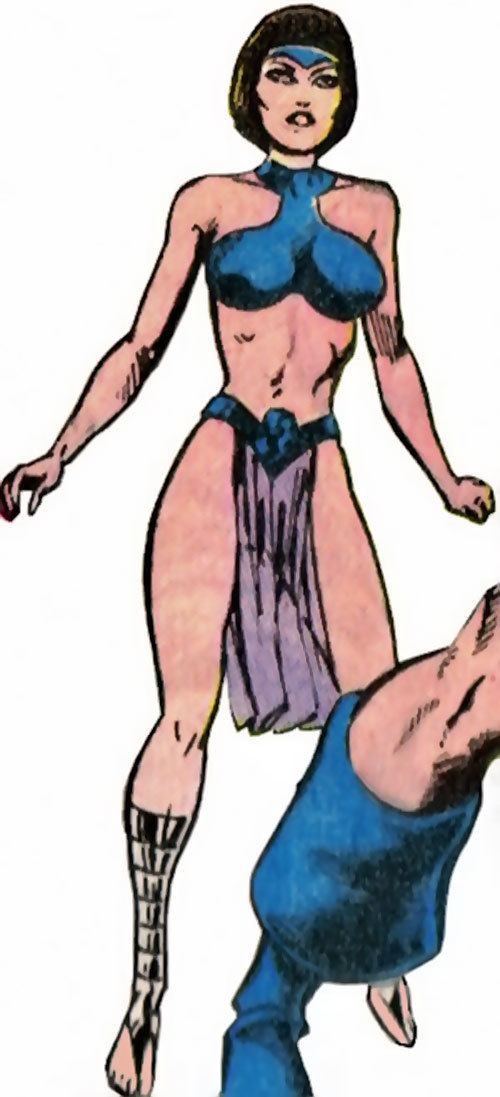 Esper Lass Esper Lass DC Comics Legion of SuperVillains Character