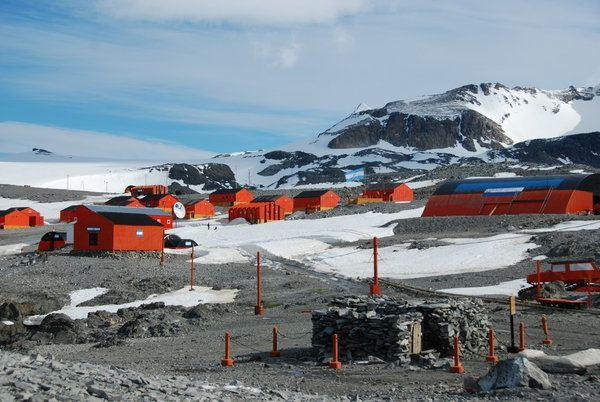 Esperanza Base Esperanza Base the human colony and another of Nordenskjold39s huts