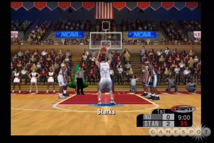 ESPN College Hoops 2K5 ESPN College Hoops 2K5 Review GameSpot