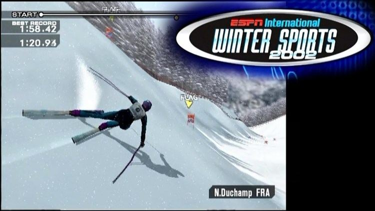 ESPN International Winter Sports 2002 ESPN International Winter Sports 2002 PS2 YouTube