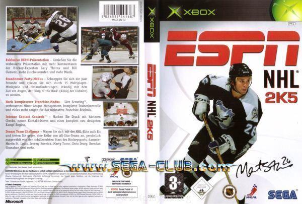 ESPN NHL 2K5 ESPN NHL 2K5 ISO 4PLAYERs Games Direct Download ISO JTAG RGH DLC