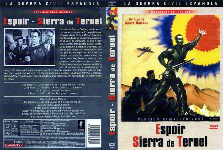 Espoir: Sierra de Teruel Cartula Caratula de Espoir Sierra De Teruel L39espoir