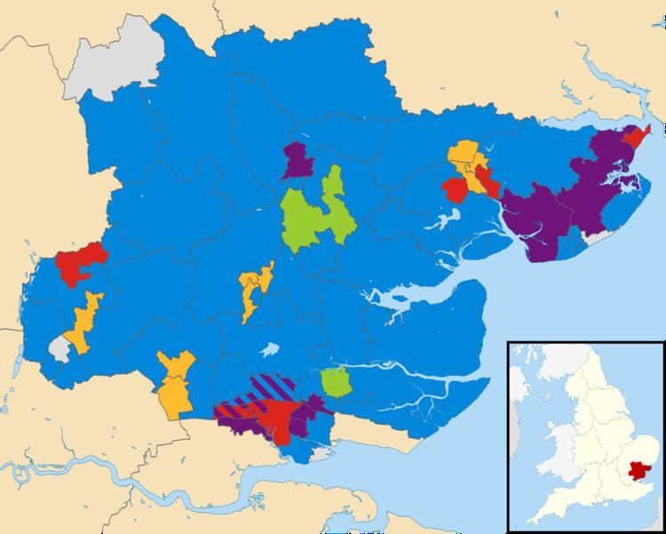 Essex County Council election, 2013