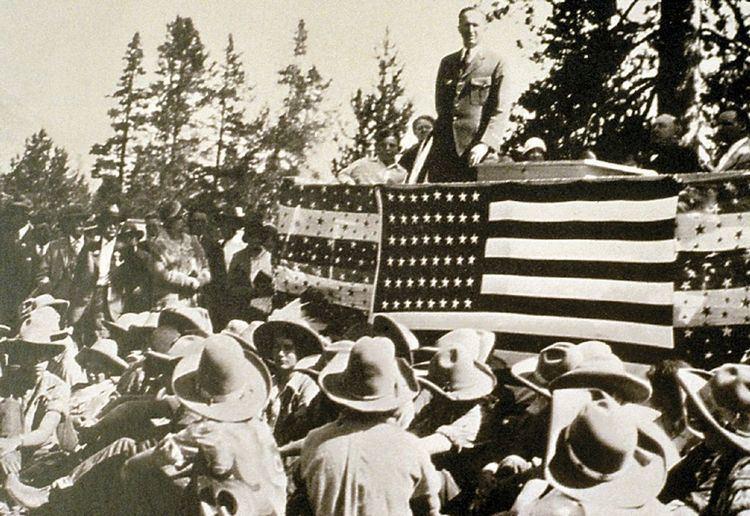 Establishment of Grand Teton National Park