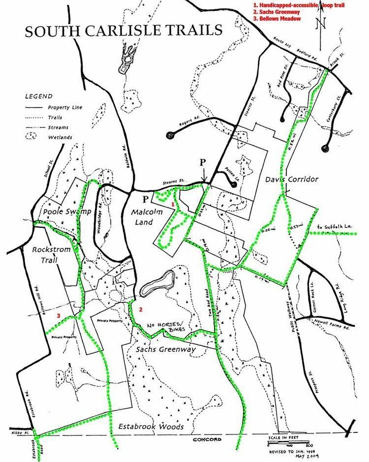 Estabrook Woods Carlisle Trails Committee South Carlisle Trails