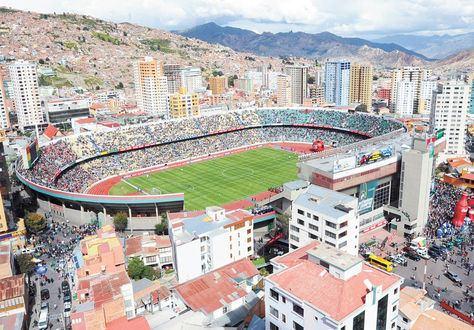 Estadio Hernando Siles El Siles es parte del equipo La Razn