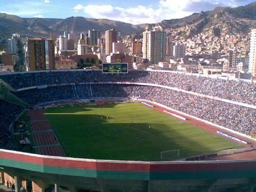 Estadio Hernando Siles The o39jays on Pinterest