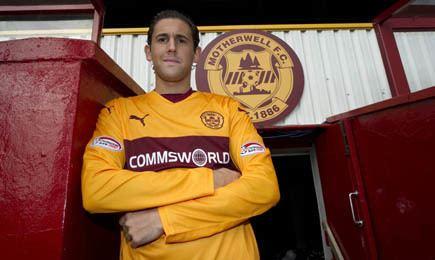 Esteban Casagolda Motherwell FC Casagolda signs for Motherwell