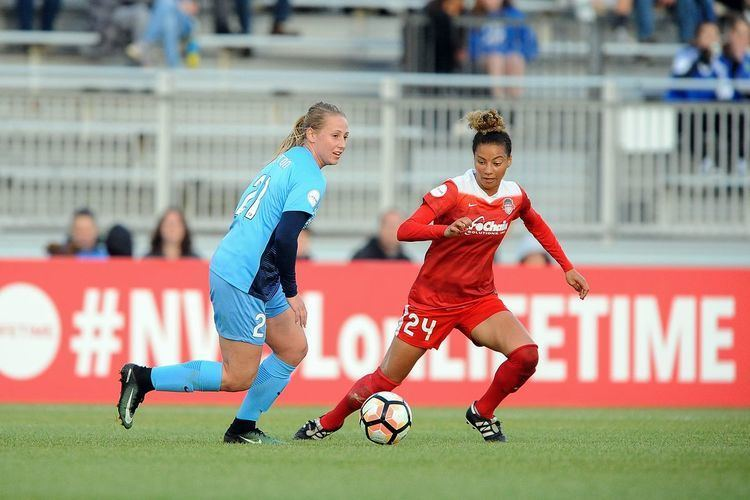 Estelle Johnson NWSL Team of the Month for June includes two Washington Spirit