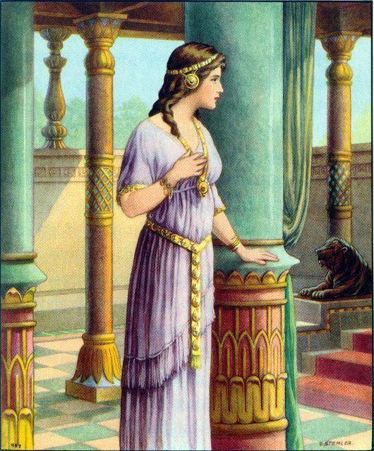 Esther Garden of Praise Esther Bible Story