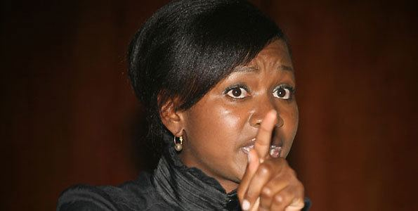 Esther Arunga Esther Arunga blames parents for a rocky start in marriage