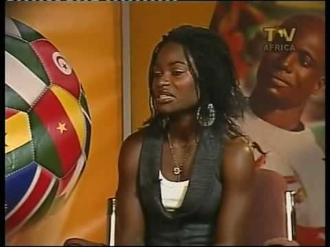 Esther Dankwah Esther Dankwah on TV Africa YouTube
