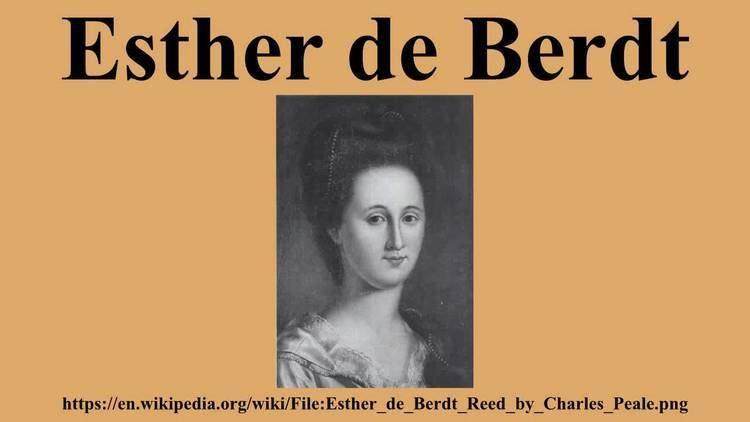 Esther de Berdt Esther de Berdt YouTube