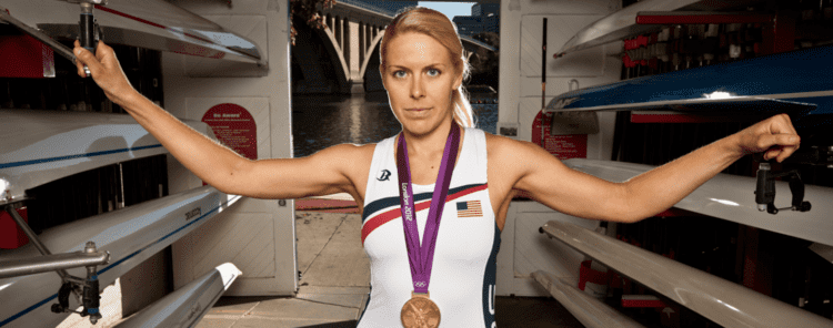 Esther Lofgren wwwEstherLofgrencom Rowing for Gold Athlete for Life