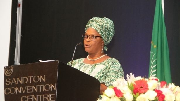 Esther Lungu First Lady Esther Lungu addresses the 15th General Assembly ZANIS