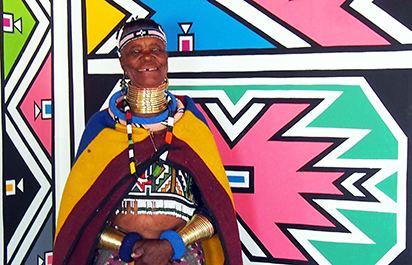 Esther Mahlangu Esther Mahlangu An Artistic Residency Exhibitions