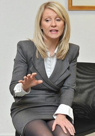 Esther McVey Esther McVey under fire after accepting 10k donation from