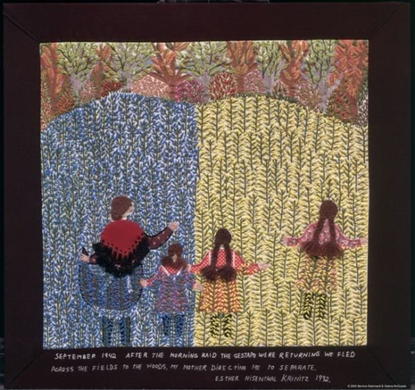 Esther Nisenthal Krinitz EXHIBITS Art and Remembrance