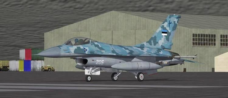 Estonian Air Force General Dynamics F16S Estonian Air Force Thirdwire Strike