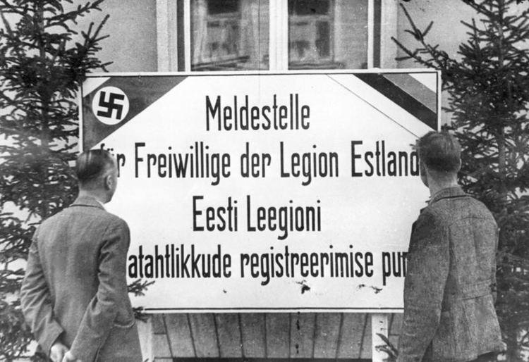 Estonian Legion httpsuploadwikimediaorgwikipediacommons66