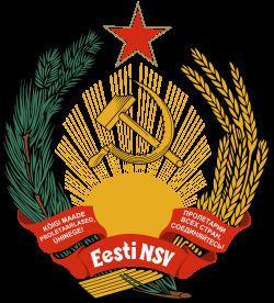 Estonian Soviet Socialist Republic Emblem of the Estonian Soviet Socialist Republic Wikipedia