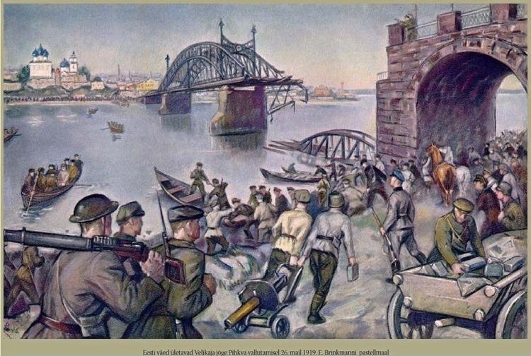 Estonian War of Independence Maximilian Maksolly Estonian War Artist Alternative Finland