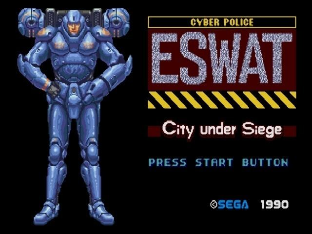 ESWAT: City under Siege ESWAT City Under Siege USA ROM lt Genesis ROMs Emuparadise