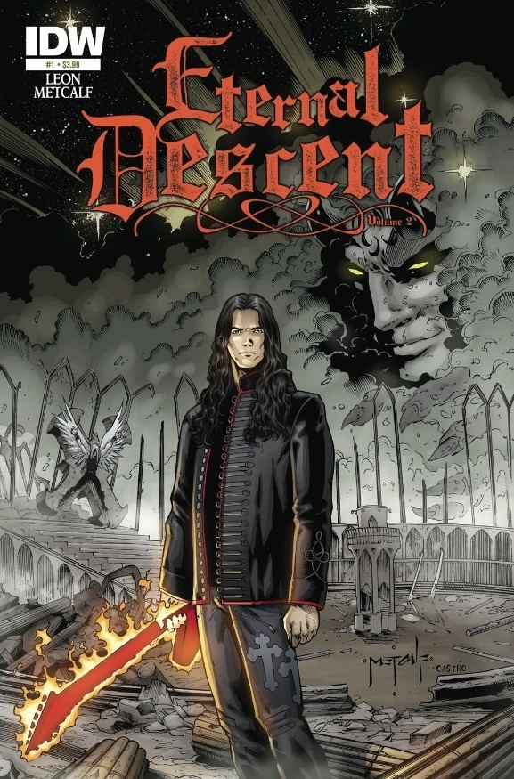 Eternal Descent Eternal Descent Volume 2 1 Out Today IDW Publishing
