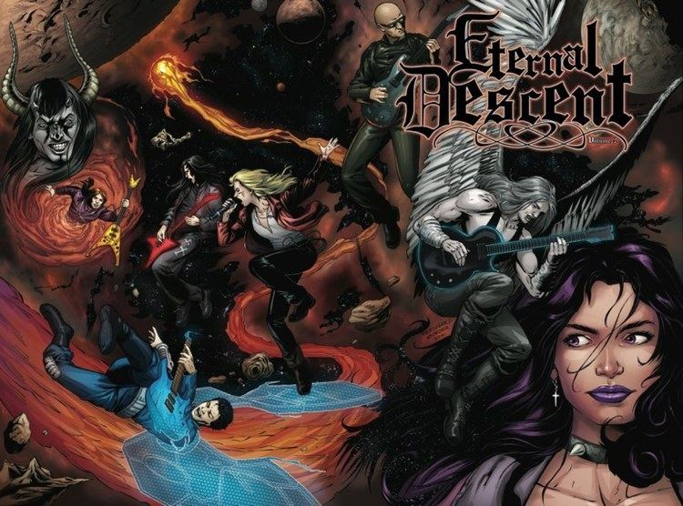 Eternal Descent IDW Publishing39s ETERNAL DESCENT Returns With Volume 2 Graphic Novel