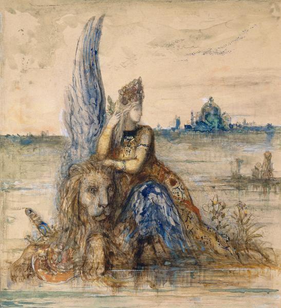 Eternal feminine Th au Jasmin Gustave Moreau and the Eternal Feminine NGV 321679