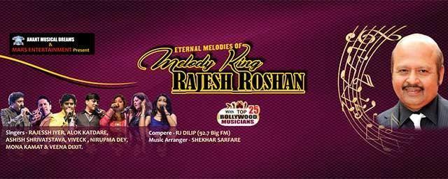 Eternal Melodies Eternal Melodies of Rajesh Roshan Tickets BookMyShow