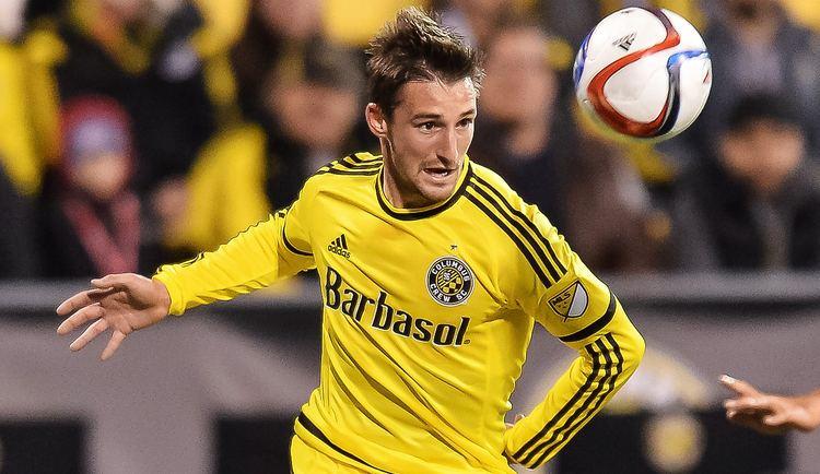 Ethan Finlay Ethan Finlay Columbus Crew MLS 03142015 Goalcom