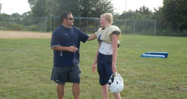 Ethan Place Holt graduate takes over as coach of the Indians Mid Rivers