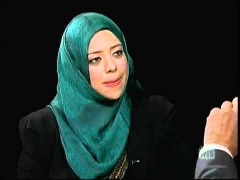 Ethar El-Katatney Ethar ElKatatney on the Charlie Rose show 21 Sept 2011
