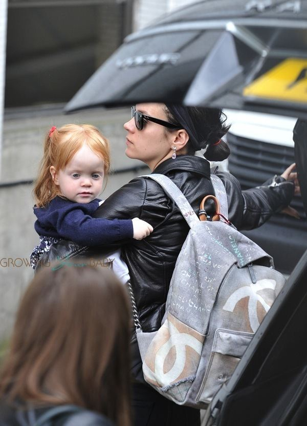 Ethel Cooper Lily Allen out with daughter Ethel Cooper Growing Your Baby