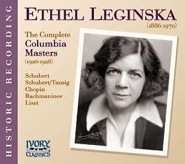 Ethel Leginska CD72002 Ethel Leginska The Complete Columbia Masters Ivory